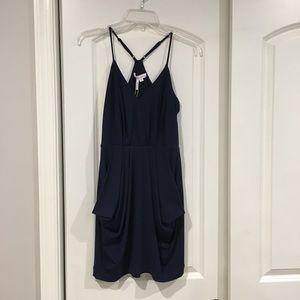BCBGeneration Navy Blue Dress